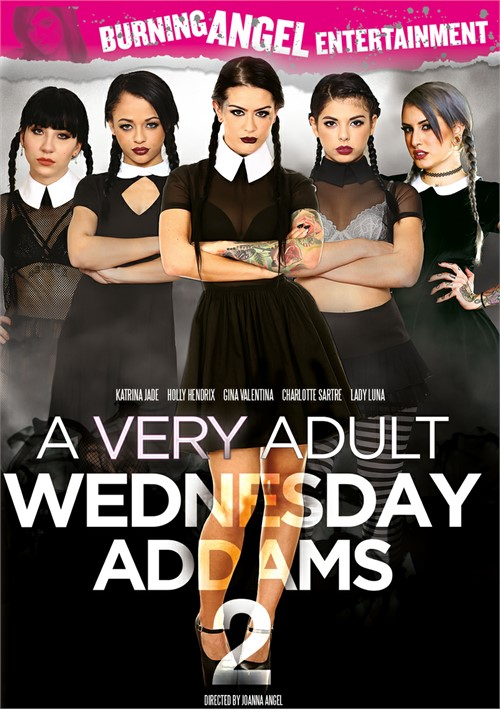 A Very Adult Wednesday Addams Vol. 2 (Burning Angel)