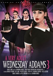 A Very Adult Wednesday Addams Vol. 3 (Burning Angel)