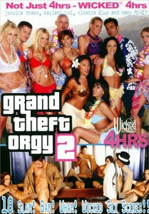 Grand Theft Orgy Vol. 2 (Wicked Pictures)