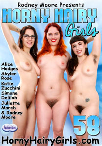 Horny Hairy Girls Vol. 58 (Rodney Moore)