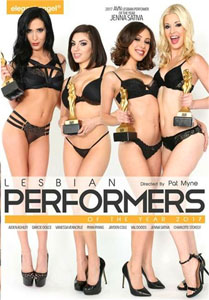 Lesbian Performers Of The Year 2017 (Elegant Angel)