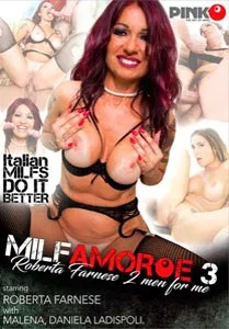 MILF Amore Vol. 3: Roberta Farnese 2 Men For Me (Pink'o)