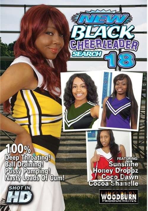 New Black Cheerleader Search Vol. 18 (White Ghetto)