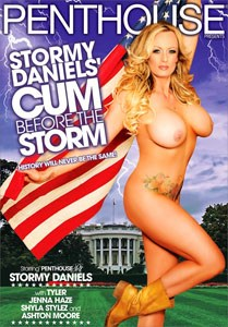 Stormy Daniels' Cum Before The Storm (Penthouse)