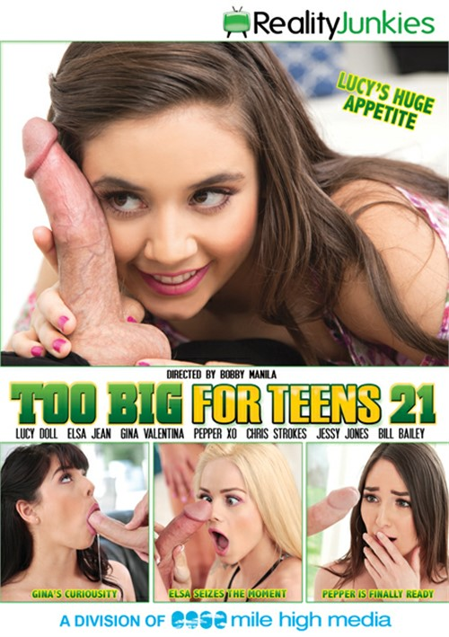 Too Big For Teens Vol. 21 (Reality Junkies)