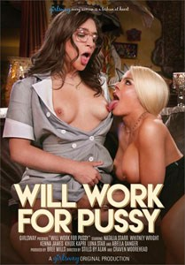 Will Work For Pussy (Girlsway)